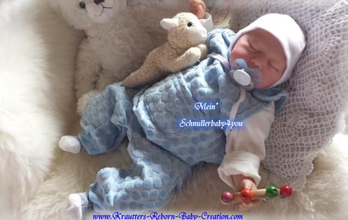 Reborn Baby Boy Joel Nr.4 (Bausatz von U.L Krautter) | schnullerbaby4you