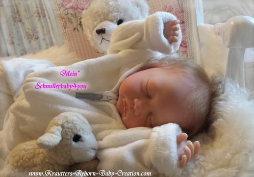 Reborn Baby Mary-Lou 19 (Bausatz von U.L Krautter) | schnullerbaby4you