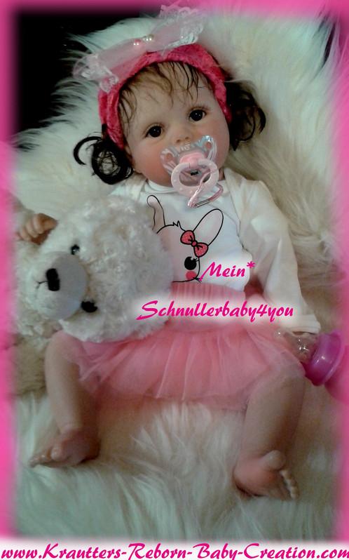 Reborn Baby Lilly-Lou 10 Bausatz von U.L Krautter | schnullerbaby4you