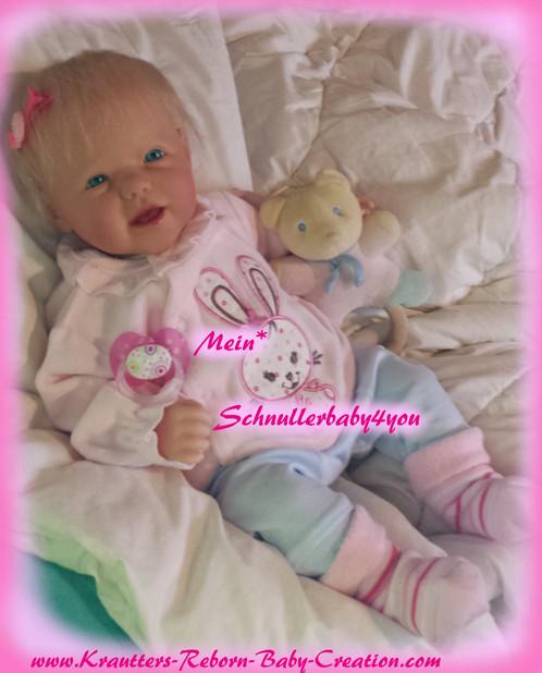 Reborn Baby Girl *Maya* Babypuppe Künstlerp | schnullerbaby4you