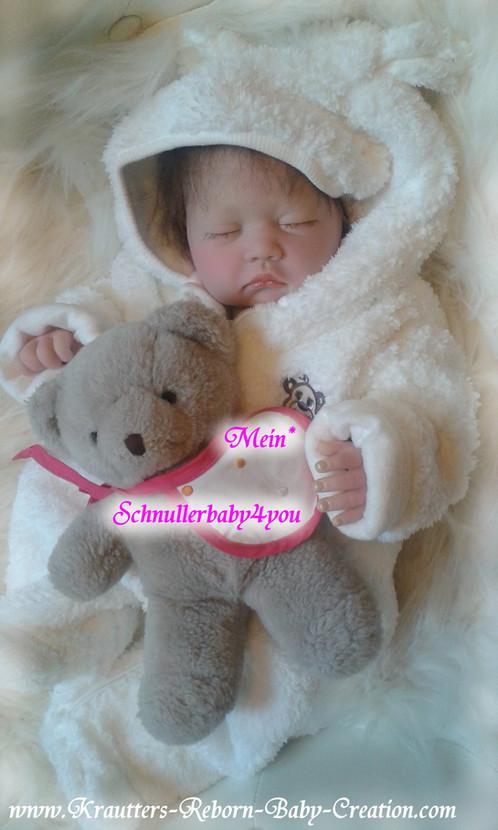 Reborn Baby Mary-Lou 9 (Bausatz von U.L Krautter) | schnullerbaby4you