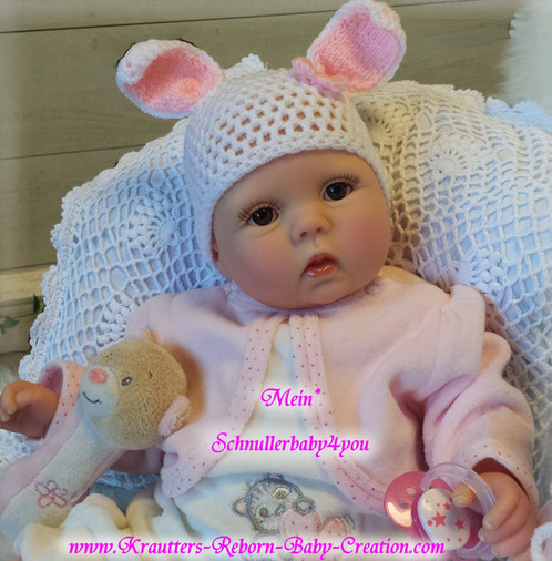 Reborn Baby Lilly-Lou Nr.36 Bausatz von U.L Krautter | schnullerbaby4you
