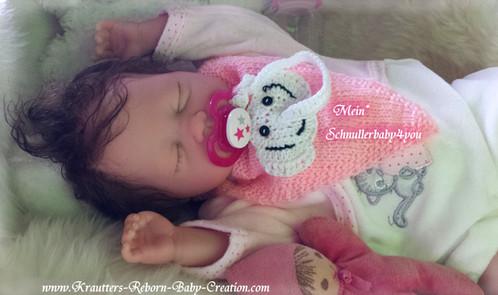 Reborn Baby Mary-Lou 20 (Bausatz von U.L Krautter) | schnullerbaby4you