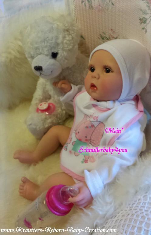 Reborn Baby Lilly-Lou Nr.38 Bausatz von U.L Krautter | schnullerbaby4you