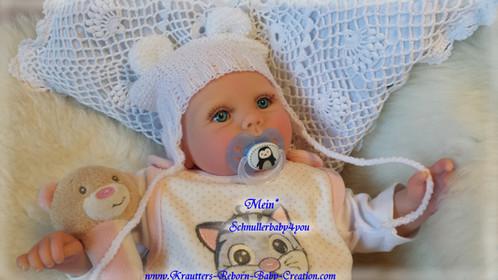 Reborn Baby Lilly-Lou Nr.35 Bausatz von U.L Krautter | schnullerbaby4you