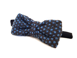 Bow Tie - Blue Wool
