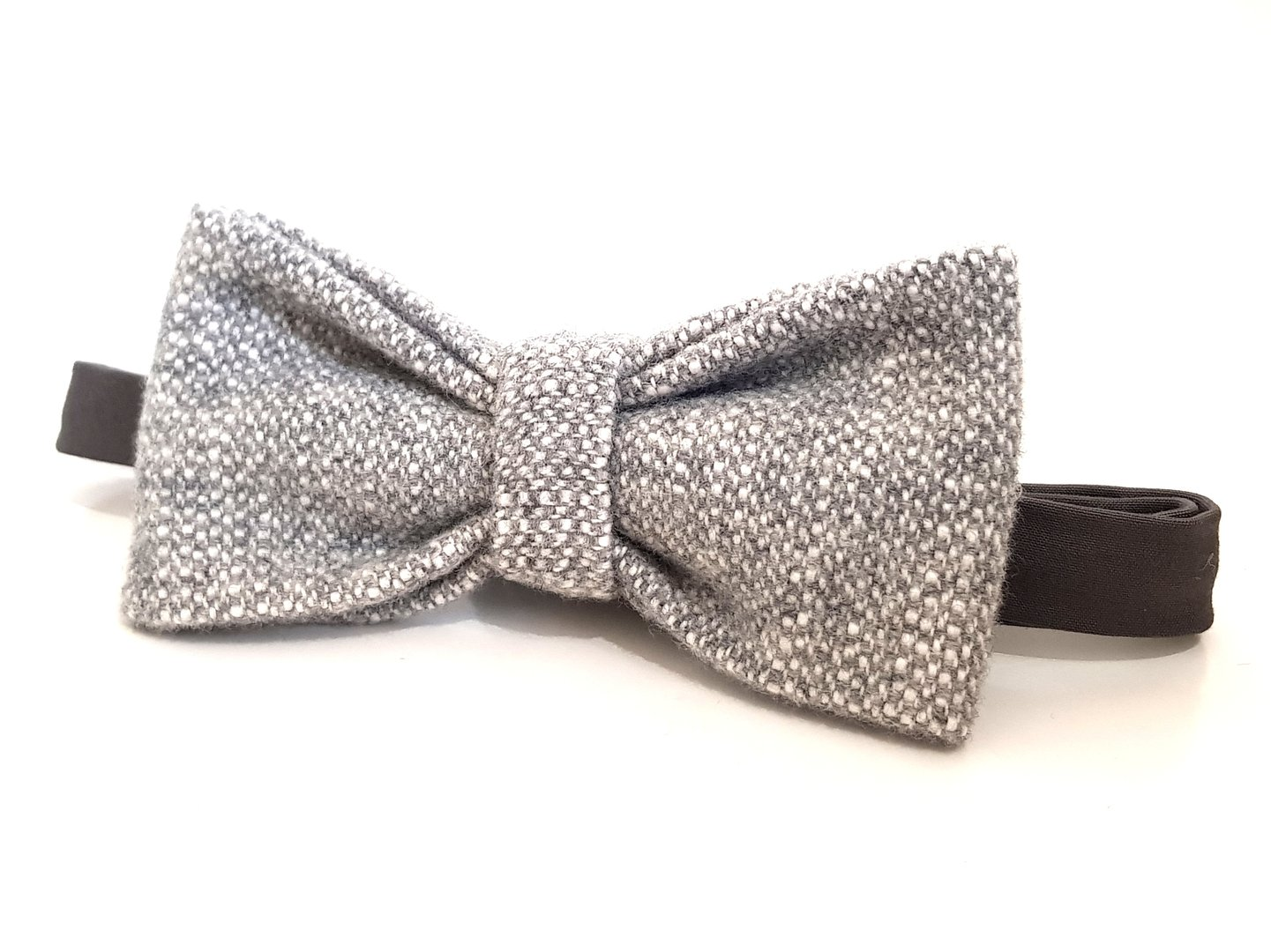 Bow Tie - Grey Wool