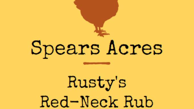 Rusty's Red-Neck Rub (10oz)