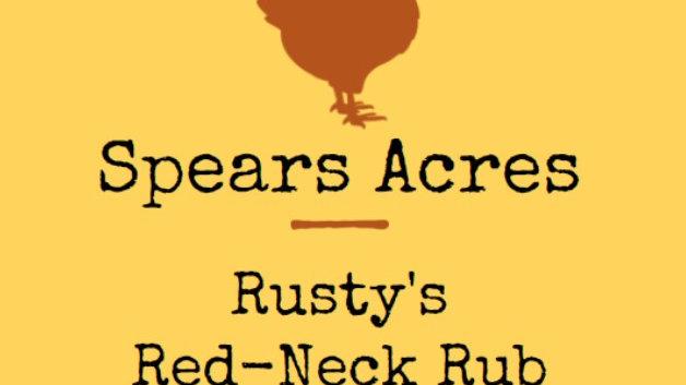Rusty's Red-Neck Rub (4.5oz)