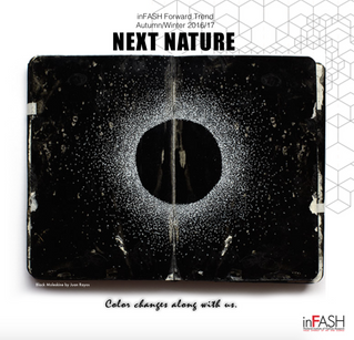 inFASH FORWARD TREND presents NEXT NATURE : Color changes along with us...