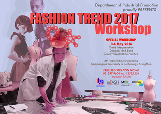 FASHION TREND WORKSHOP 2017