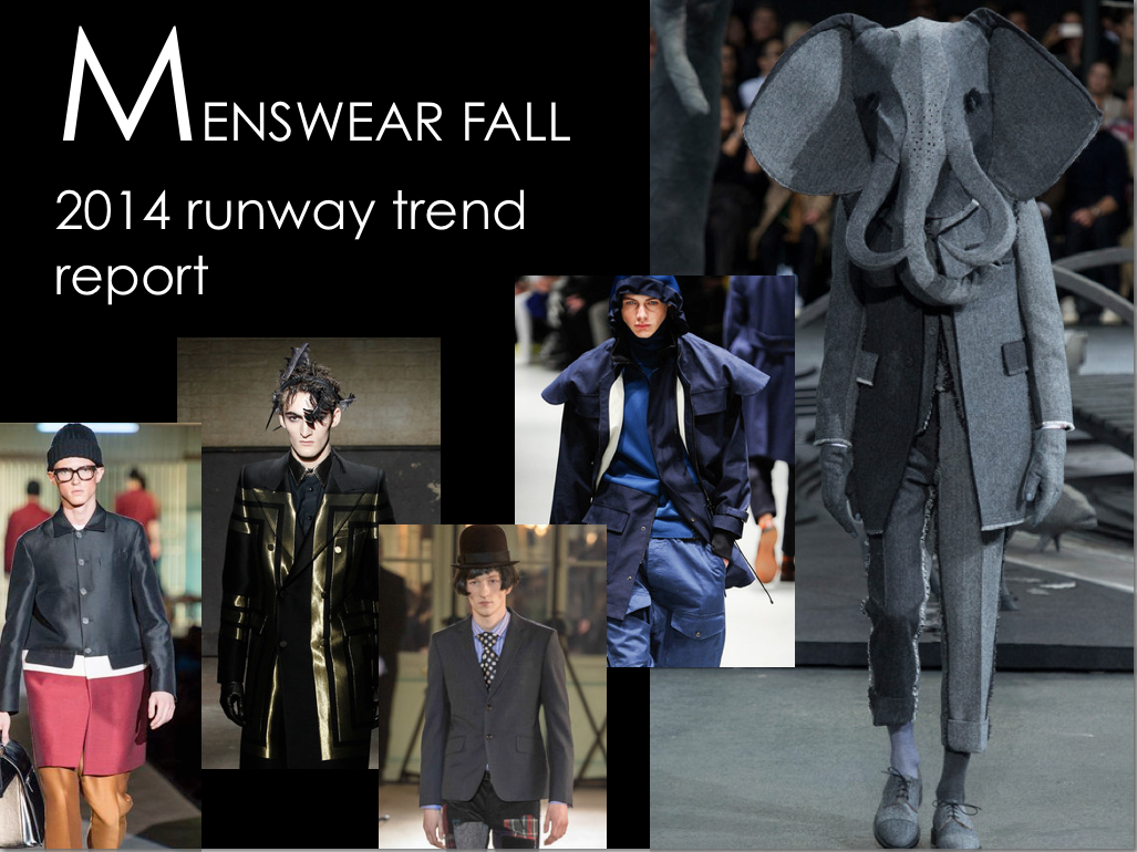 Fall 2014 menswear trends