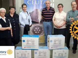 PROYECTO SOLIDARIO DEL ROTARY CLUB DE CEUTA