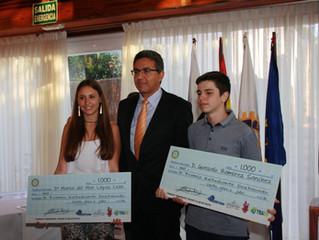 PREMIO ESTUDIANTE DESTACADO ROTARY CLUB DE CEUTA IX EDICIÓN. 2016