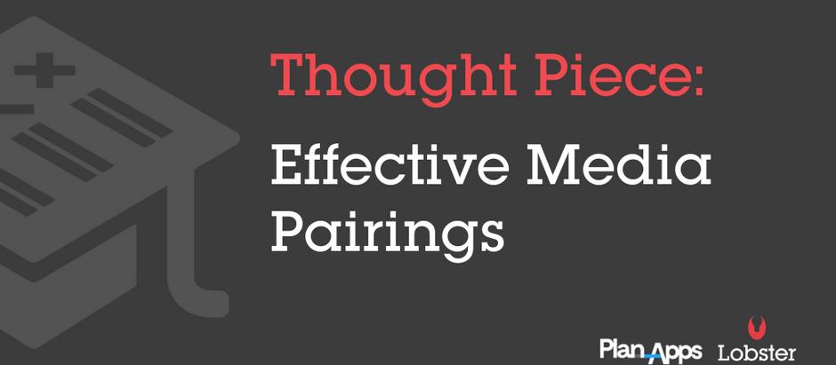 Effective media pairings