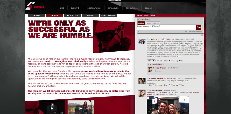 Humble - Overview