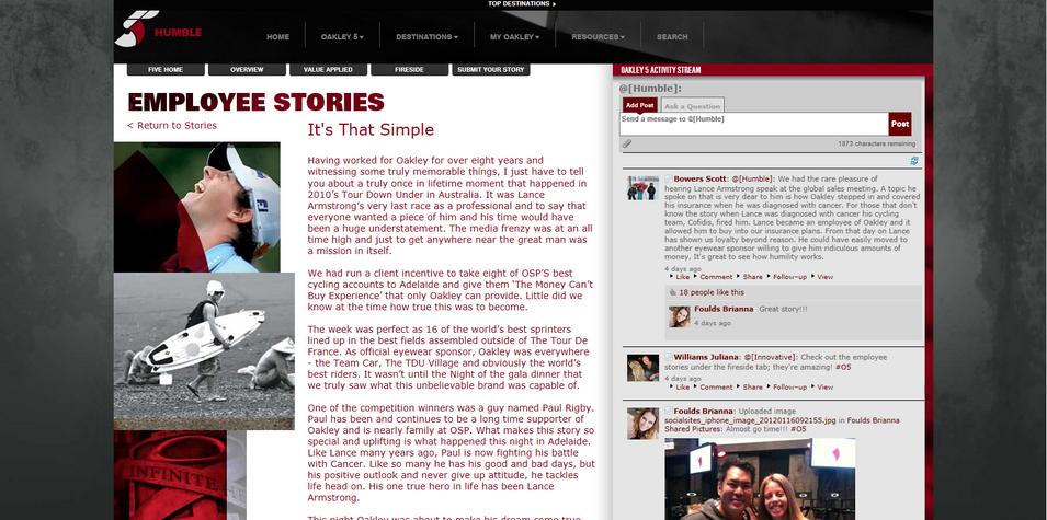 Humble - Employee Stories Detail