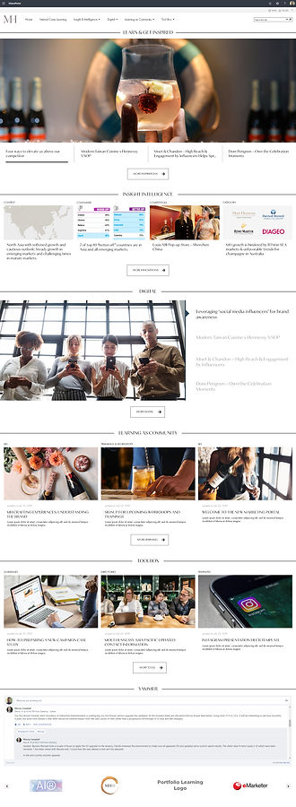 MHAP Marketing Portal Homepage (Desktop