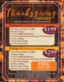 THANKSGIVING Party Poster Staten Island