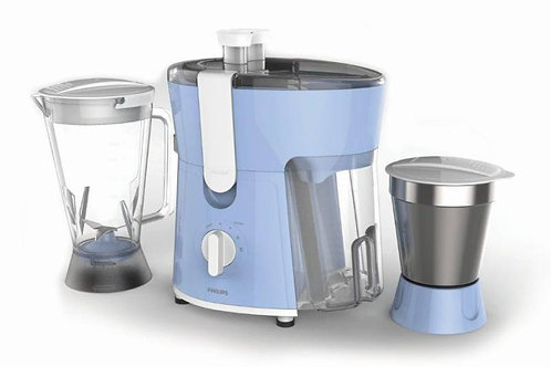 Philips Daily Collection HL 7575/00 / hl7575/01 600 W Juicer Mixer Grinder  (Blu