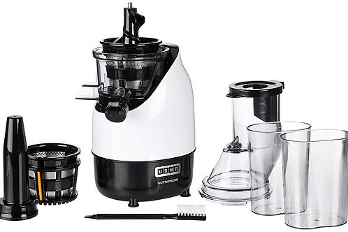 Usha CPJ 382F NutriPress Cold Press Juicer with Full Mouth Feeding Tube, 200 Wat