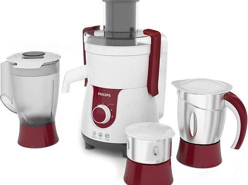 Philips HL 7715 HL7715/00 700 W Juicer Mixer Grinder  (Red, 3 Jars)
