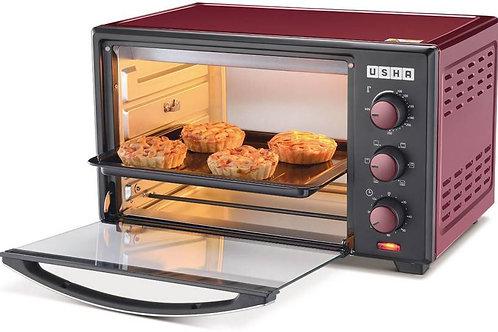 Usha 29-Litre 3629R Oven Toaster Grill (OTG)  (Wine & Matte Black)