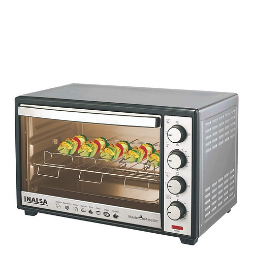 Inalsa MasterChef 46SSRC OTG with Motorised Rotisserie and Convection, 2000W, 4