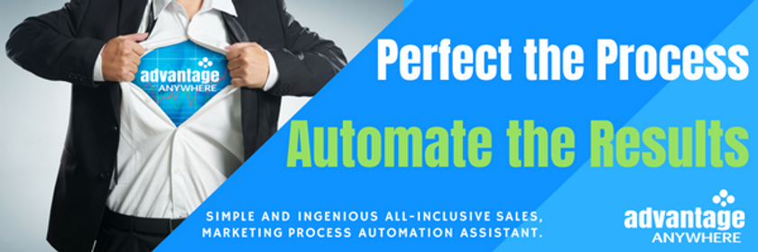 AA - Perfect the process Automate the Re
