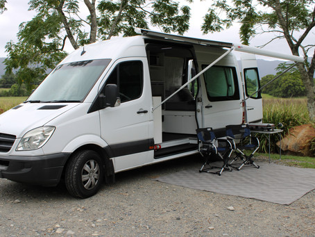 Top tips for setting up at a caravan park site