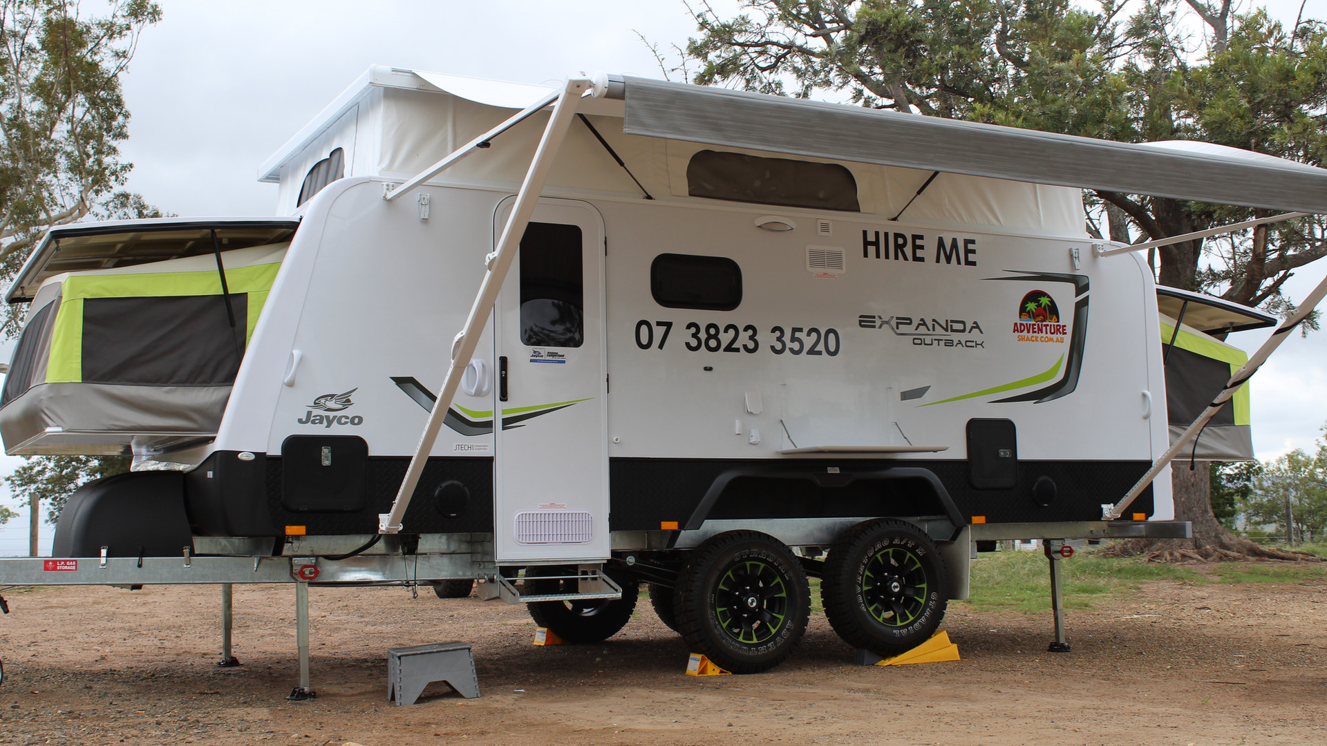 Jayco Expanda Outback for hire brisbane