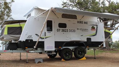 Jayco Expanda Outback for hire brisbane