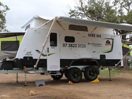 Hiring a Caravan vs Camper Trailer