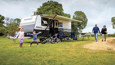 Option Rv Tornado Family van for hire brisbane