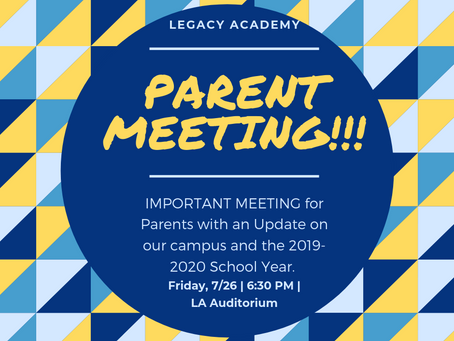 IMPORTANT MEETING--Friday 7/26 6:30pm