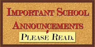 School Update - 01/06/2020