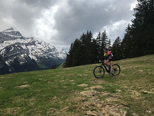 Gstaad mountain rider