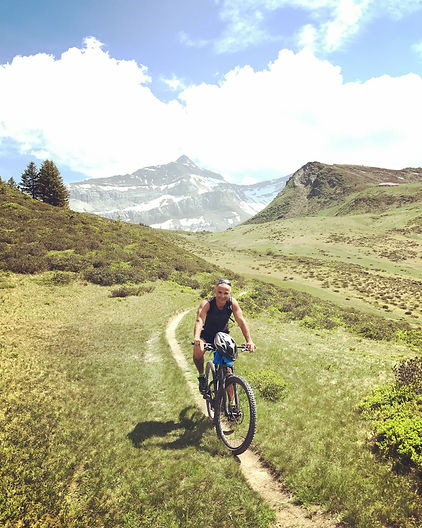 Mountainbike Gstaad