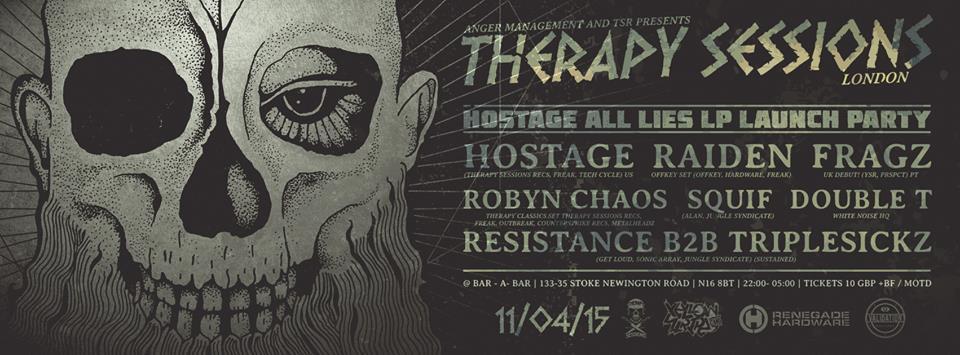 Hostage launch london full