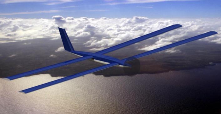 XSun Solar X-one UAV drone solaire