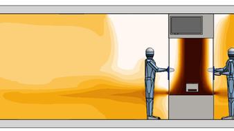 Contamination en salle blanche: les indicateurs chiffrés de la simulation aéraulique