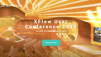 Présentation Expert à la 2nde XFlow User Conference, Madrid