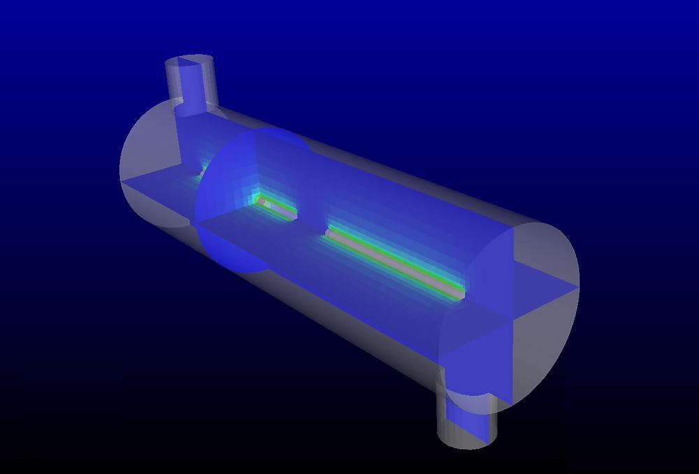 Puissance radiative émise par lampe UV