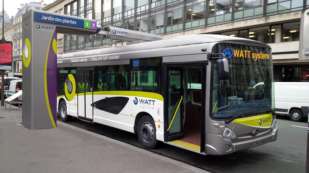 Dispositif de transfert d'énergie électrique ultra-rapide WATT par PVI