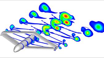 Étude des performances aérodynamiques d'un drone à aile rhomboïdale