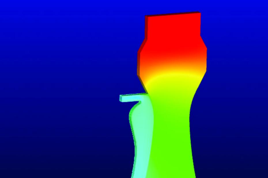 Simulation aérothermique instationnaire