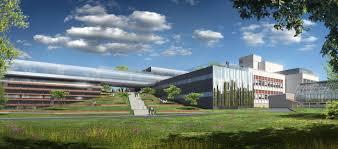 Bâtiment de l'I2BC (vue d'artiste). Source : i2bc.paris-saclay.fr