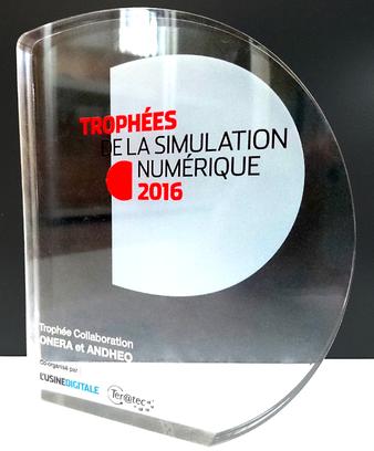 Andheo obtient le Trophée de la Simulation Numérique