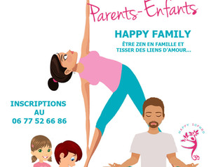Vacances d'avril : Atelier Massage et relaxation parent/enfant
