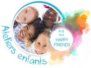 Saison Happy Sophro 2019-2020: Ateliers de groupe Happy Friends (8-12ans)